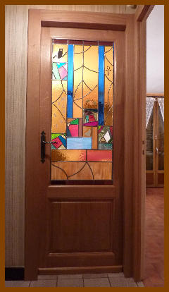 Portes for Vitraux decoration interieure